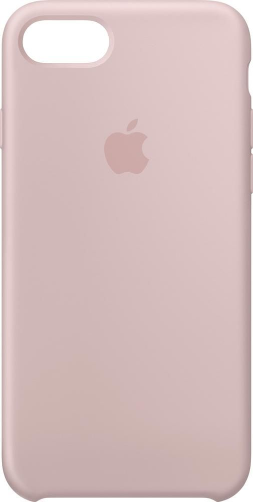 Best Buy Apple Iphone 8 7 Silicone Case Pink Sand Mqgq2zm A Pink Iphone Cases Pink Phone Cases Apple Phone Case