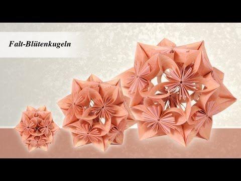 ideen mit herz bl tenkugel fleurogami aus 1 mach 3 youtube origami pinterest. Black Bedroom Furniture Sets. Home Design Ideas
