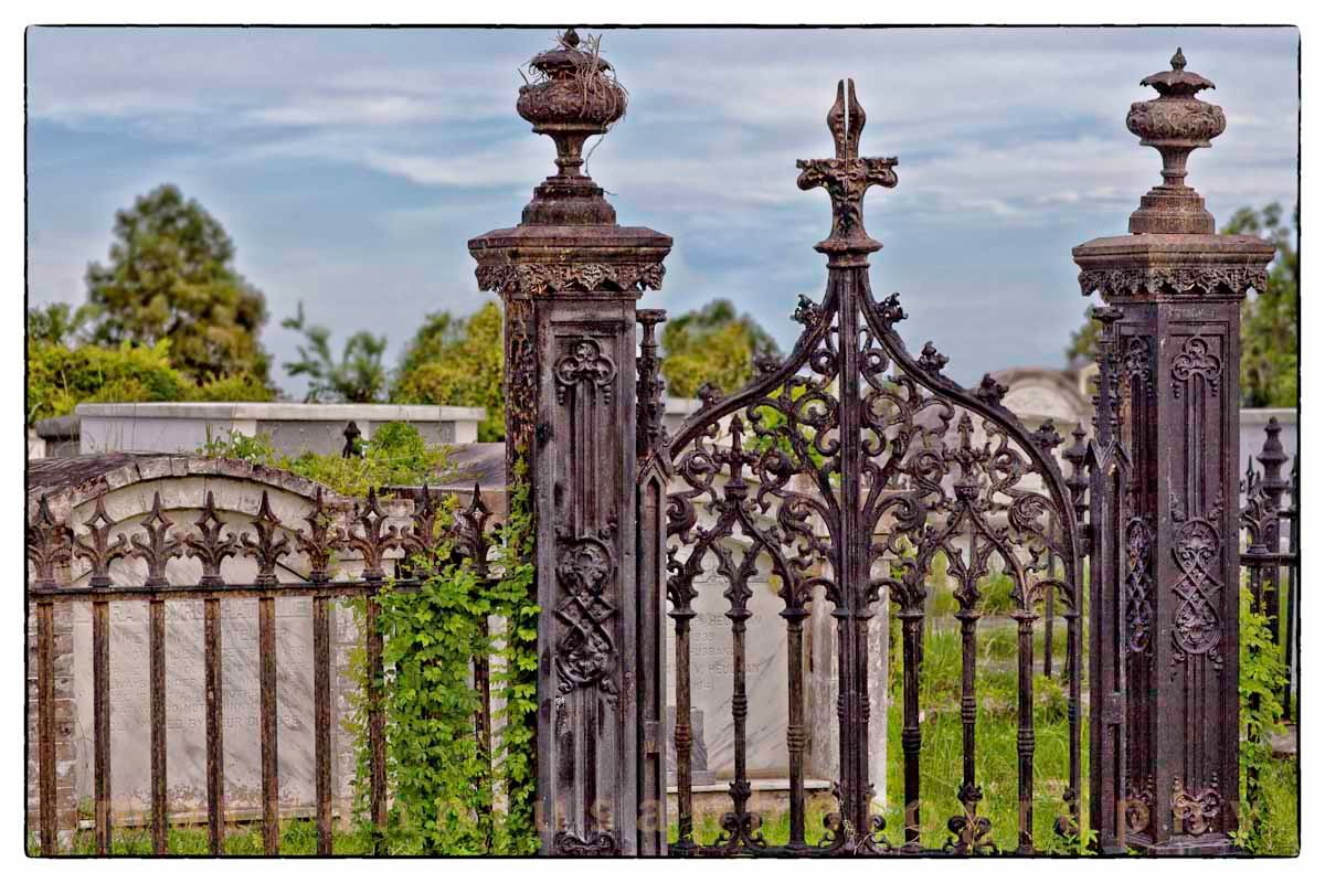Pics Old Wrought Iron Fences New Orleans Google Search