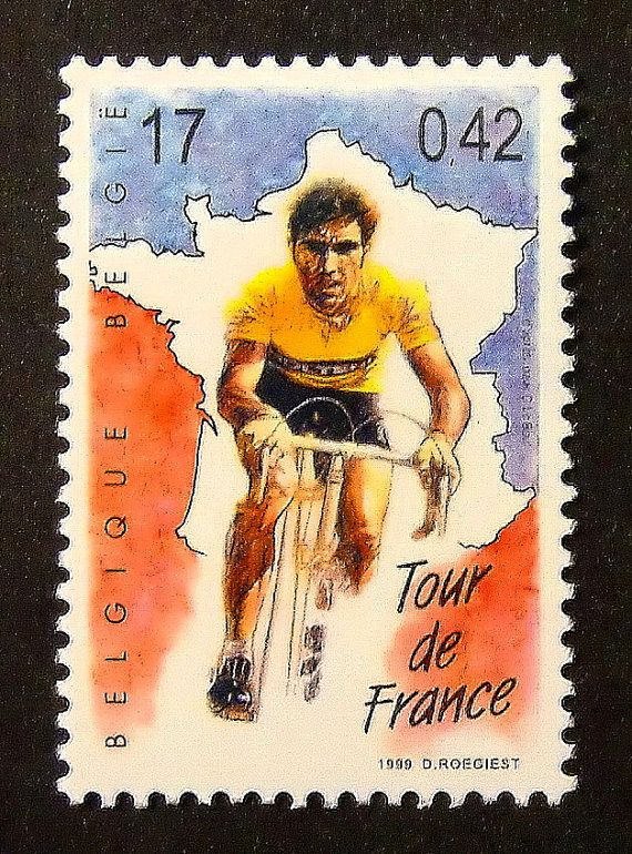 Racing Bicycles Tour de France Framed by PassionGiftStampArt