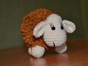 Делаем овечку: коврик из микрофибры как основа | Ярмарка Мастеров - ручная работа, handmade