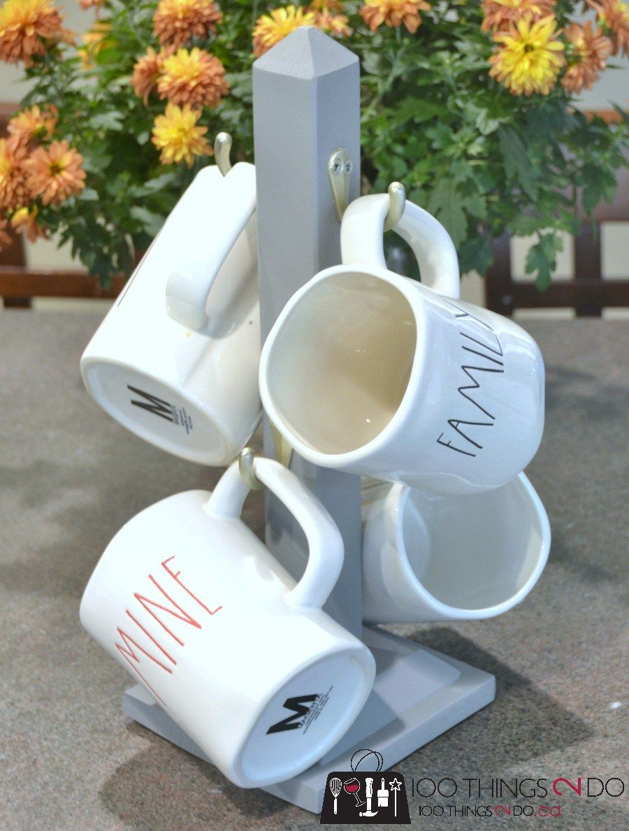 DIY Mug Stand Scrap wood projects, Diy mugs, Coffee mug