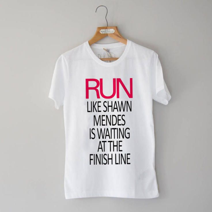 486c2f93b Run Like Shawn Mendes Waiting Finish Line, Ladies Shirt, unisex tshirt,  shirt S-XXL