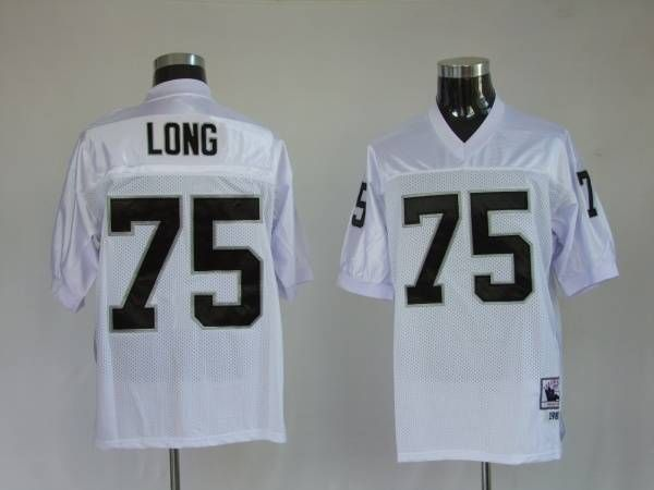 newest db6d4 94605 Mitchell and Ness Oakland Raiders Howie Long 75 Stitched ...