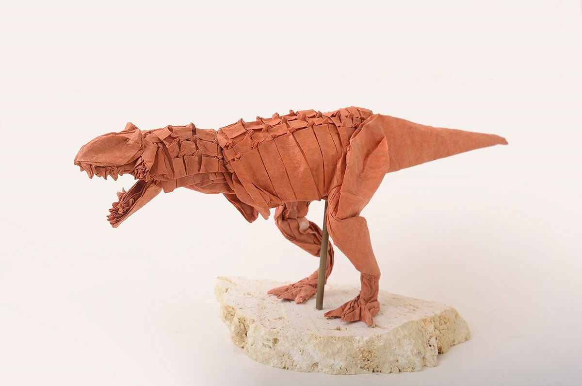 23 Pterrific Dinosaurs Expertly Folded From Paper Origami Instructions Origami Turtle Origami Paper Art