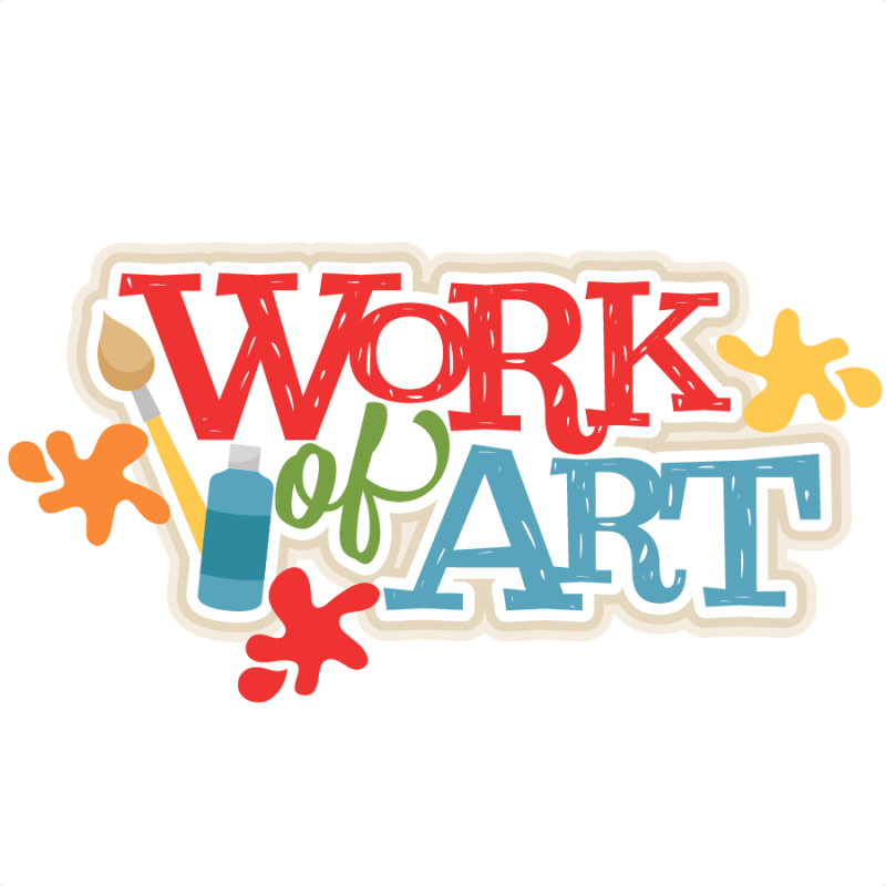 Freebie Of The Day Work Of Art Title Workofarttitle080816 Freebie Of The Day School Scrapbook Artwork Project Life Cards