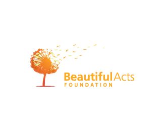 Beautiful acts foundation by designabot logo color abstract visual design modern amazing logopond also rh pinterest
