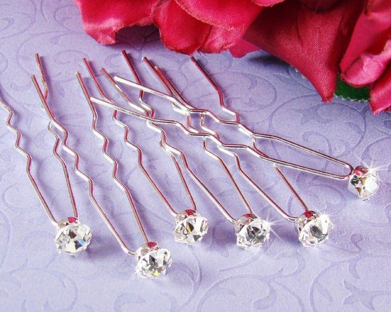 Diamond Hair Pins