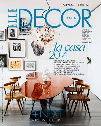 Top 5 interior design magazines in Italy\