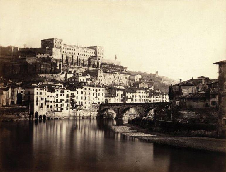 From wikiwand foto ottocentesca di verona sono visibili for Garage con ponte in cima