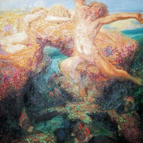 Nestor y el Poema del Atlantico.Bajamar (Museo Nestor) Low tide