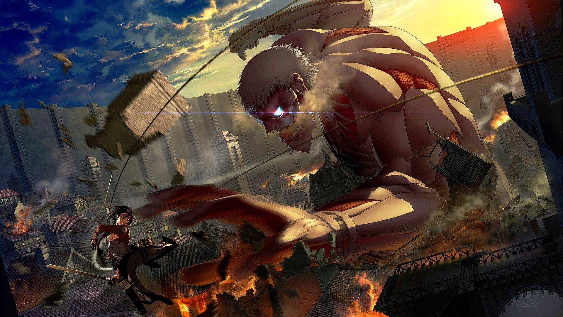 Anime Gaming Wallpaper 4k Ideas Di 2020 Seni Anime Animasi Attack On Titan
