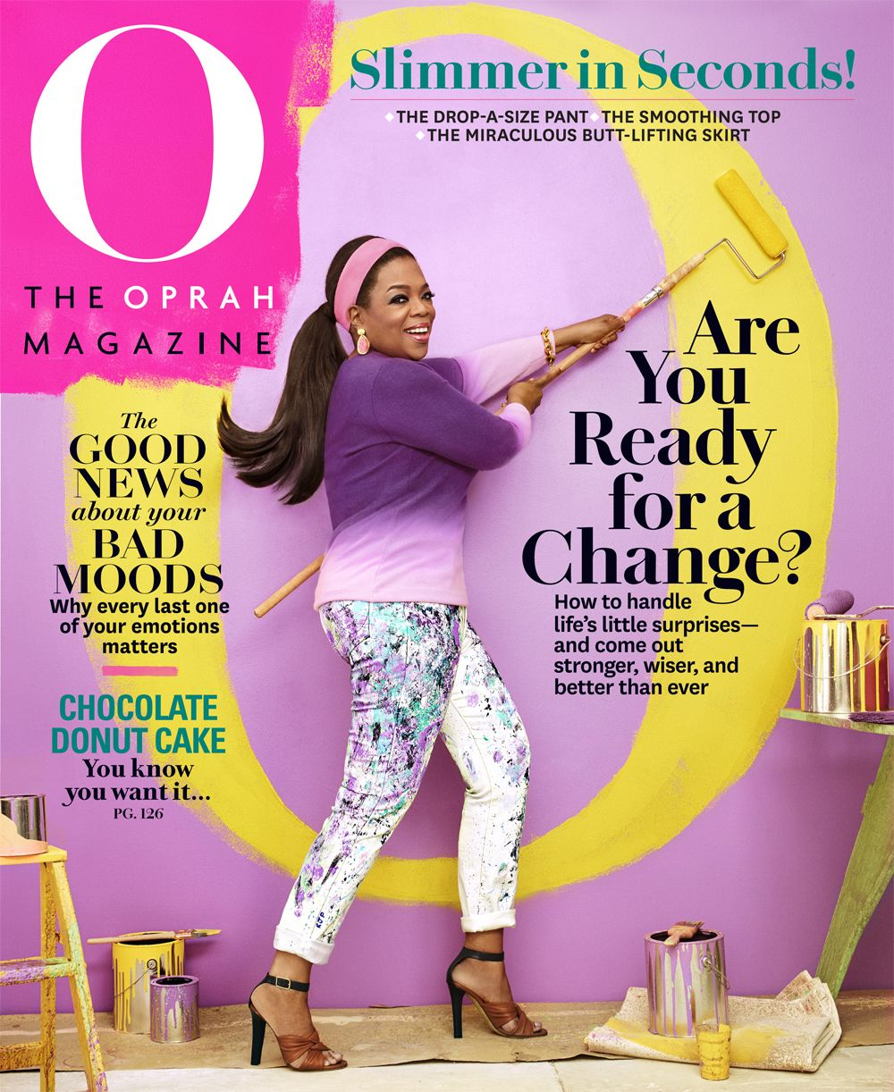 Oprah Magazine 2015