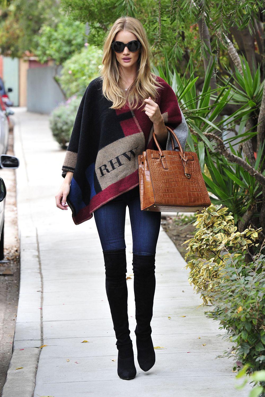 Rosie Huntington-Whiteley street style | Street Style ...