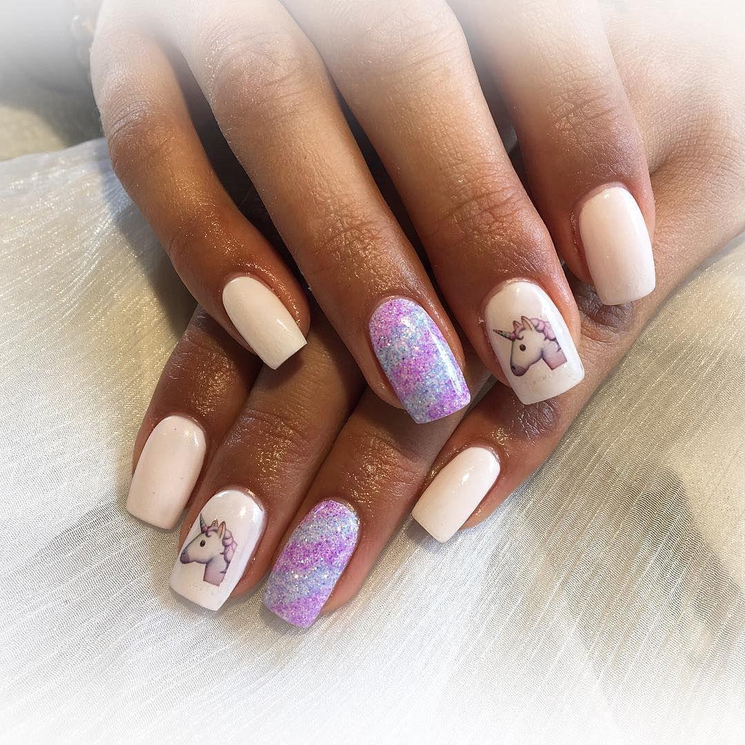 Idées Nail Art Licorne