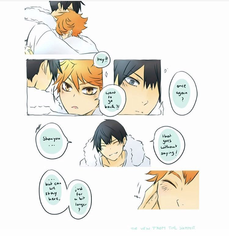 Haikyuu One Shots - Kagehina: I have Friends in Holy Spaces