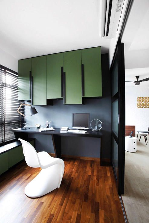 Singapore Hdb Room With Study Table: Mood Board Large: The Benefits Of Black