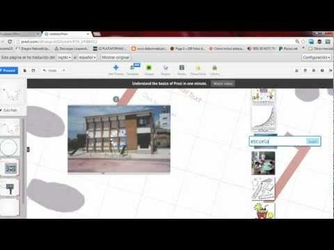 Cómo transformar una presentación de diapositivas en Prezi