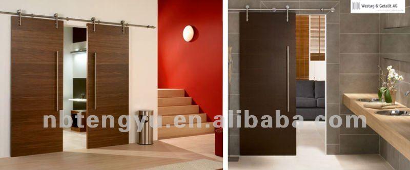 diseos de puertas corredizas de madera hay dos sistemas de movimientos para abrir y cerrar primero las puertas colgantes y segundo las