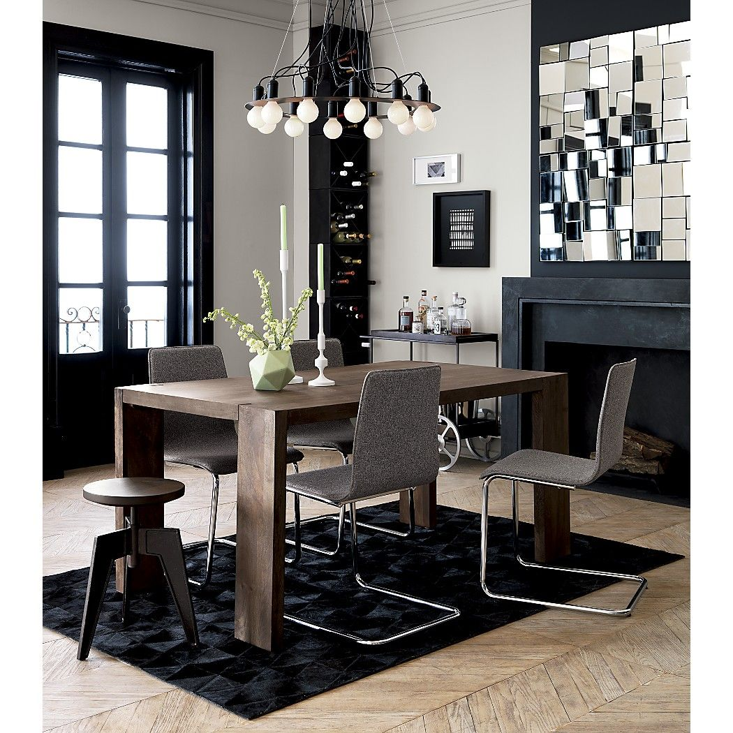 Blox Mango Wood Dining Table Home Decor Contemporary Decorating