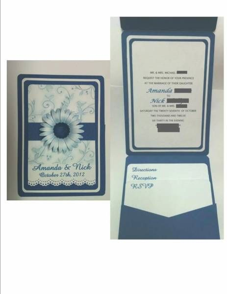 Wedding Invitation By KY Crafter