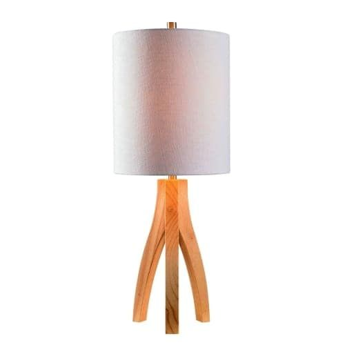 Kenroy Home 32985 Haley Single Light 27 High Tripod Table Lamp