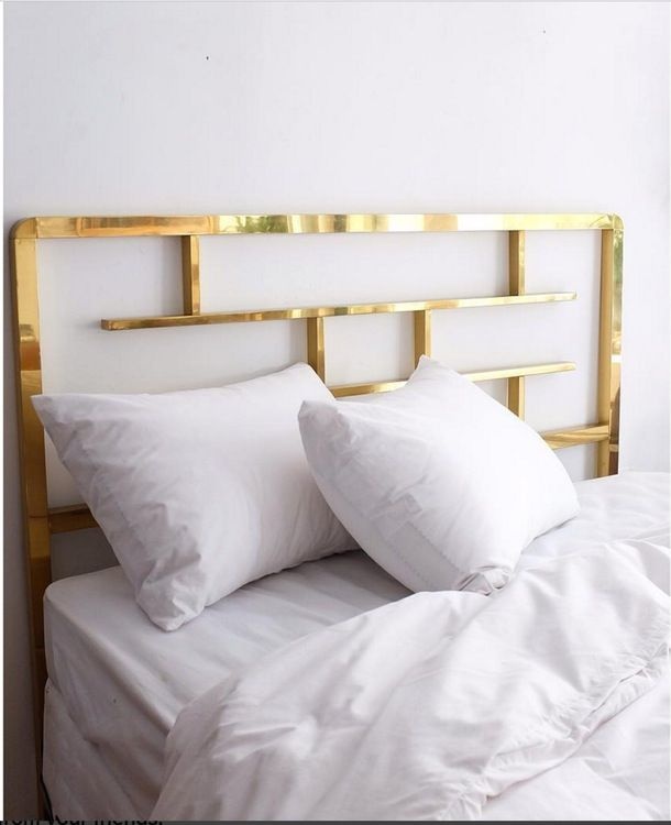 brass headboard queen. A Vintage Brass Headboard C. 1970\u0027s Queen M