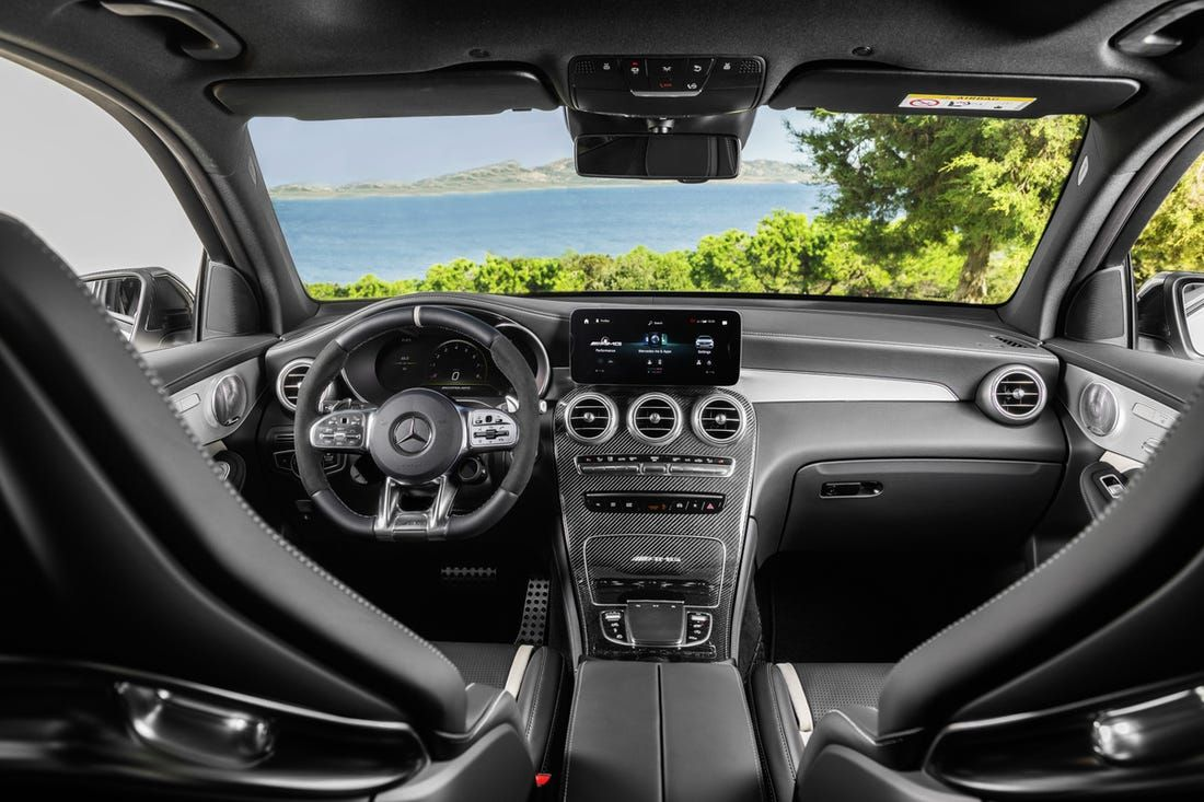 The Mercedes Amg Glc 63 Is 80 000 Worth Of Mind Boggling German