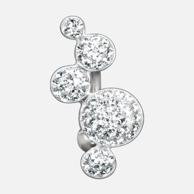 Crystal Evolution Bubbles von Titan Basicline®