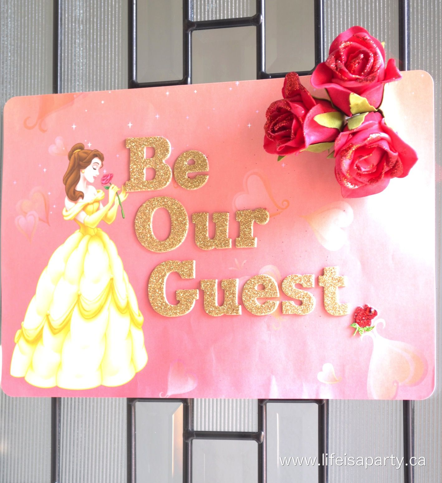 Beauty and the beast party party ideas pinterest for Princess dekoration