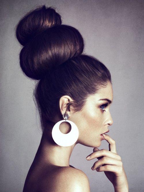 Cool 1000 Images About Hair On Pinterest Bun Hairstyles Donut Bun Short Hairstyles For Black Women Fulllsitofus