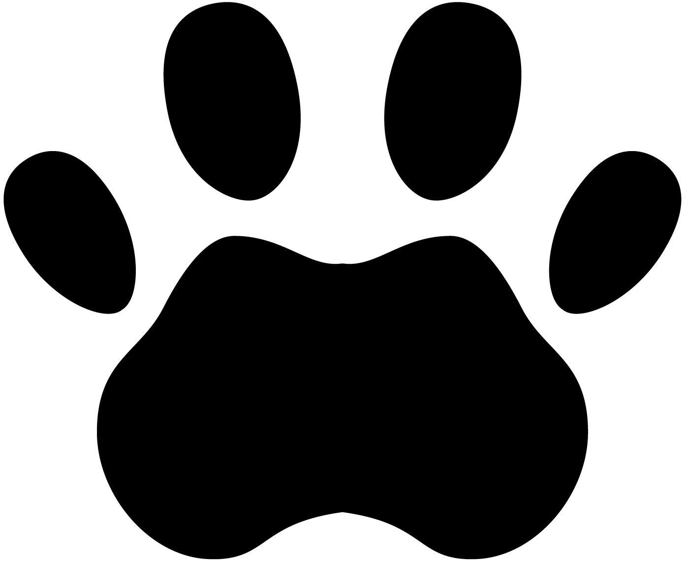 26++ Tiger paw print clipart ideas