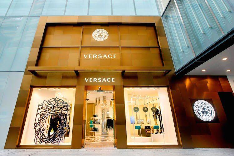 versace u abre tienda insignia de asia en hong kong