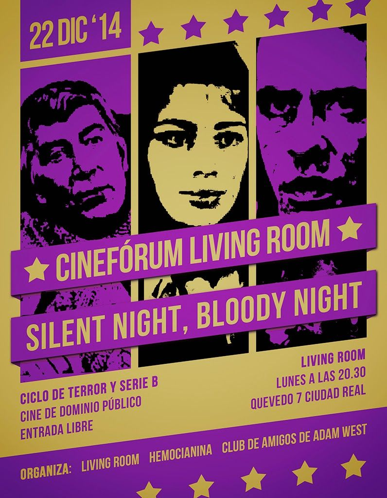 Cinefrum Living Room Silent Night Bloody Night