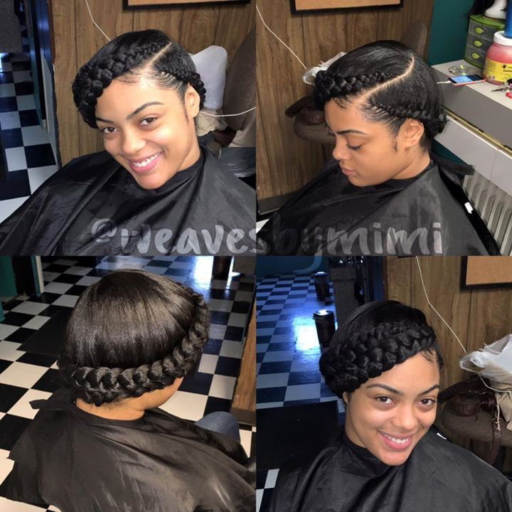 Women Hairstyles Plus Size Feed in braids hairstyles Feed in braid Natural hair styles