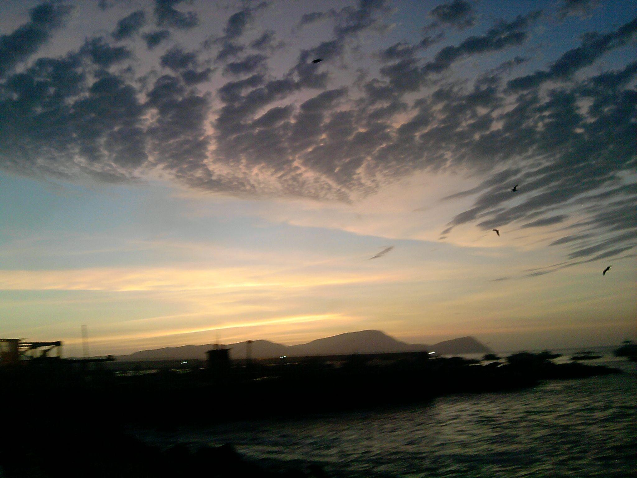 Un atardecer en Chucuito Beach...