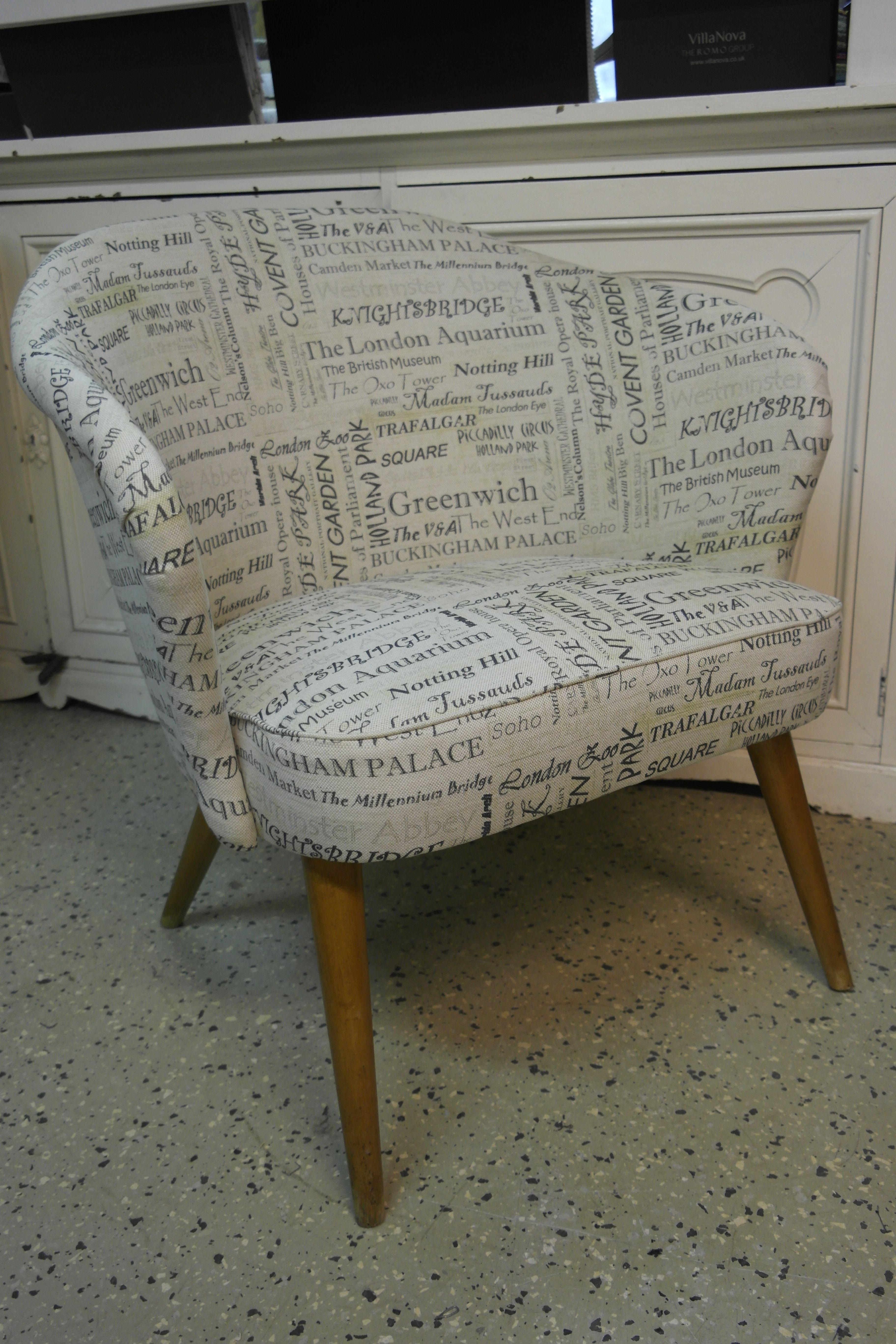 #verhoilu #upholstery #50luku
