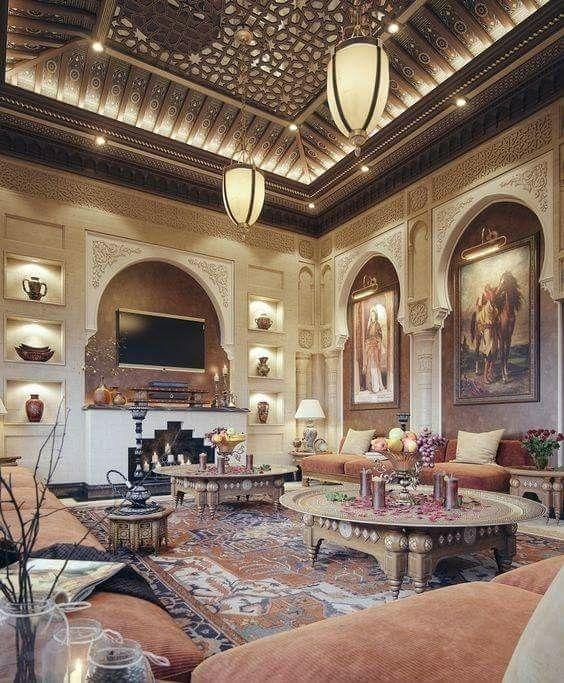 Orientalischer Stil pin fati auf moroccan design wohnzimmer und häuschen