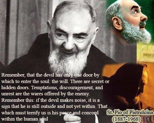 Padre Pio Quotes Pinstella Christ Siem On My Catholic  Pinterest  Santos