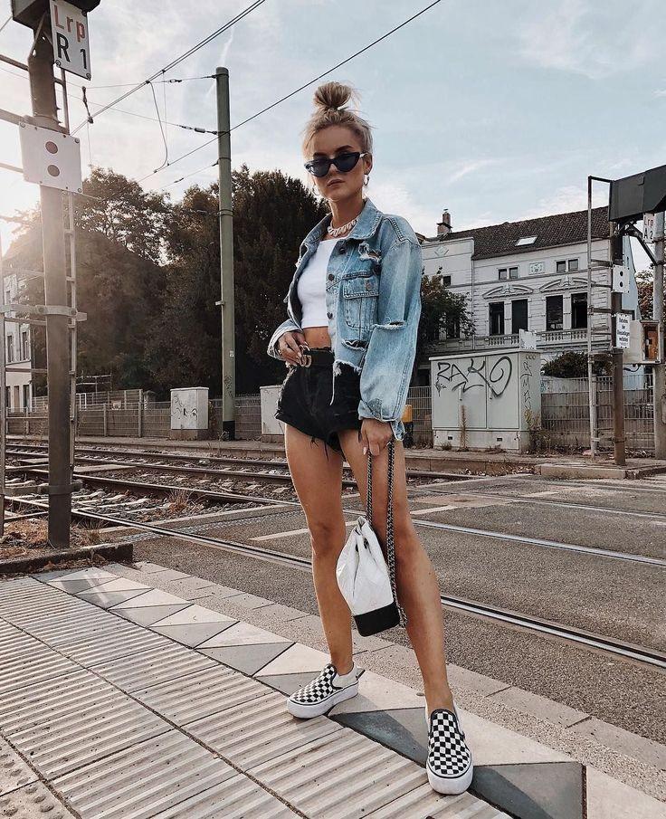 Sommer-Outfits für Frauen +700 Beste modische Ideen 2019 » #beste #frauen #ide…