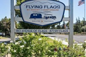 Flying Flags Rv Resort Campground Flying Flag Campground Rv Destination
