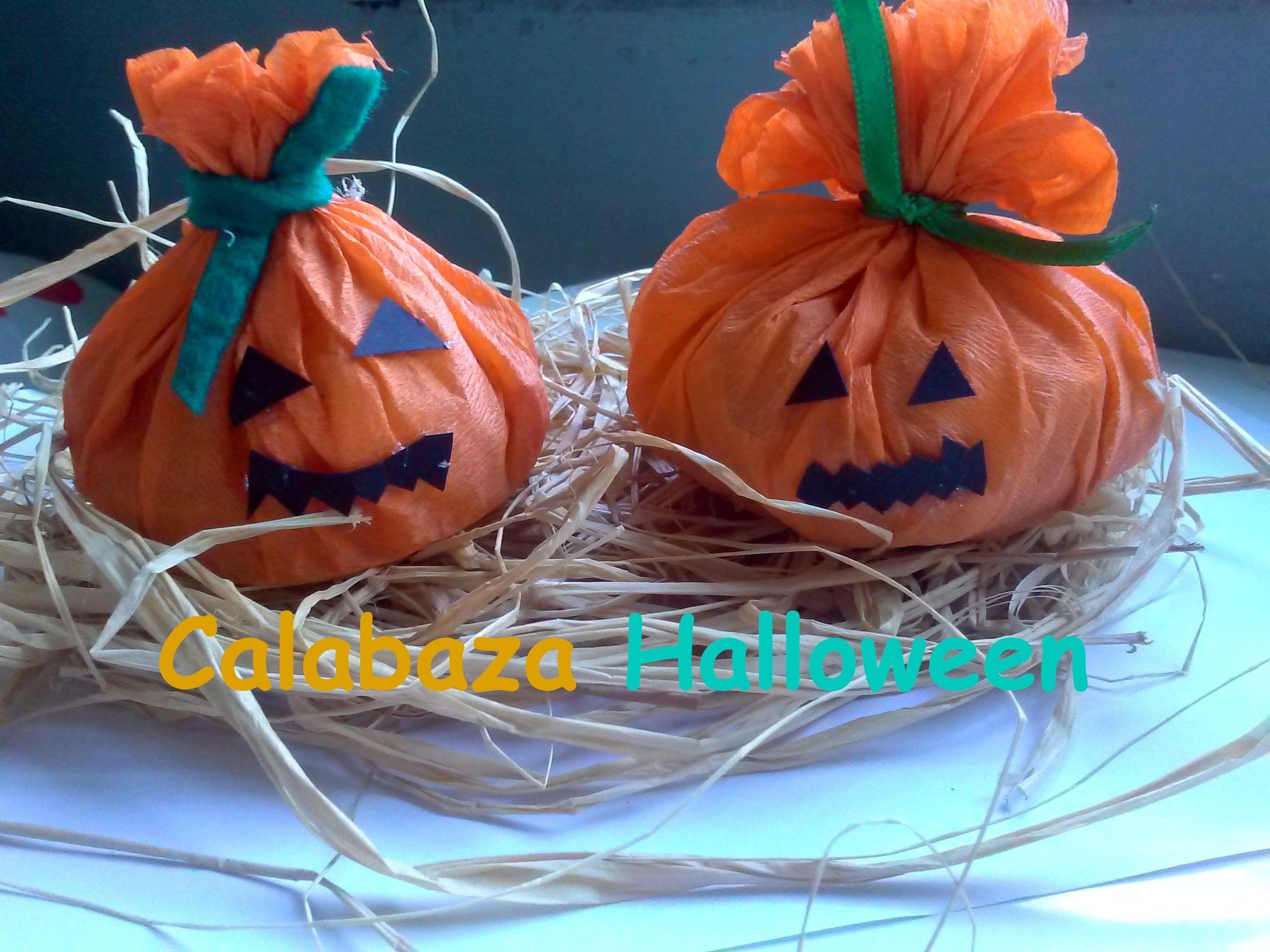 Dulcero calabaza Halloween Manualidades halloween