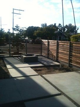 Horizontal Slat Fence Design Ideas, Pictures, Remodel, and ...
