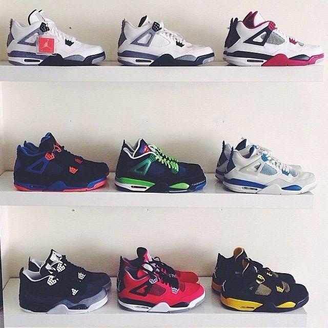 air jordan 4 collection