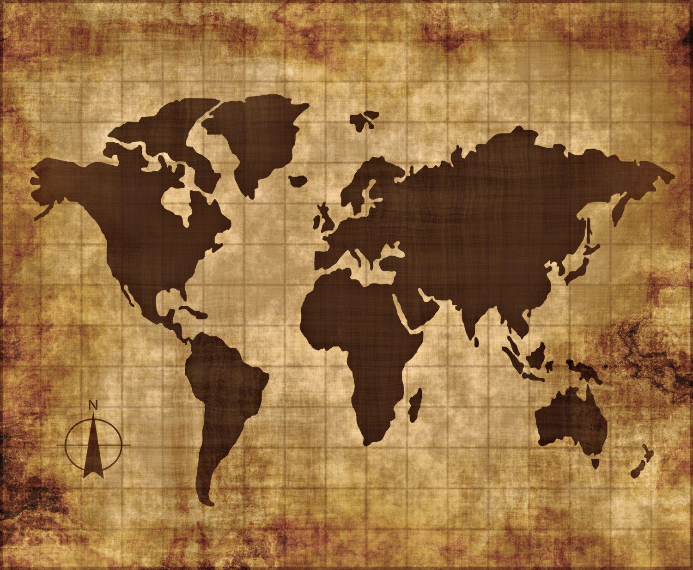 World Map Wall Art Canvas Wall Art