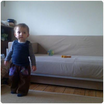 b for Bjørn: New pants for my son
