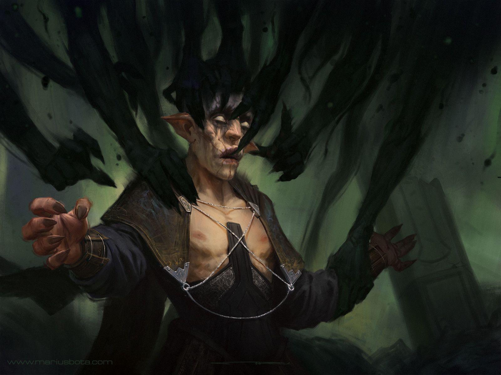 Grasping Darkness , Marius Bota on ArtStation at https://www.artstation.com/artwork/bVQ8a