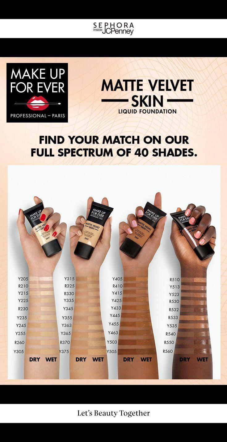 MAKE UP FOR EVER Matte Velvet Skin Full Coverage