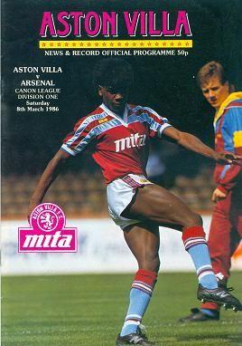 ASTON VILLA SIGN ASTON VILLA  FOOTBALL PROGRAMMES VILLA PARK ASTON VILLA FC
