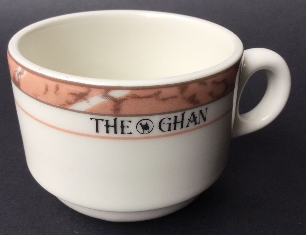 The Ghan Fine China Porcelain Coffee Cup Australian Railroad Railway Rare Find Coffee Cups Tea Cups China Porcelain